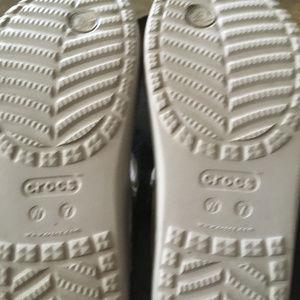 CROCS Shoes - Women's Crocs Sloane Hammered Metallic Slide